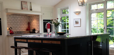 Traditional / contemporary kitchen